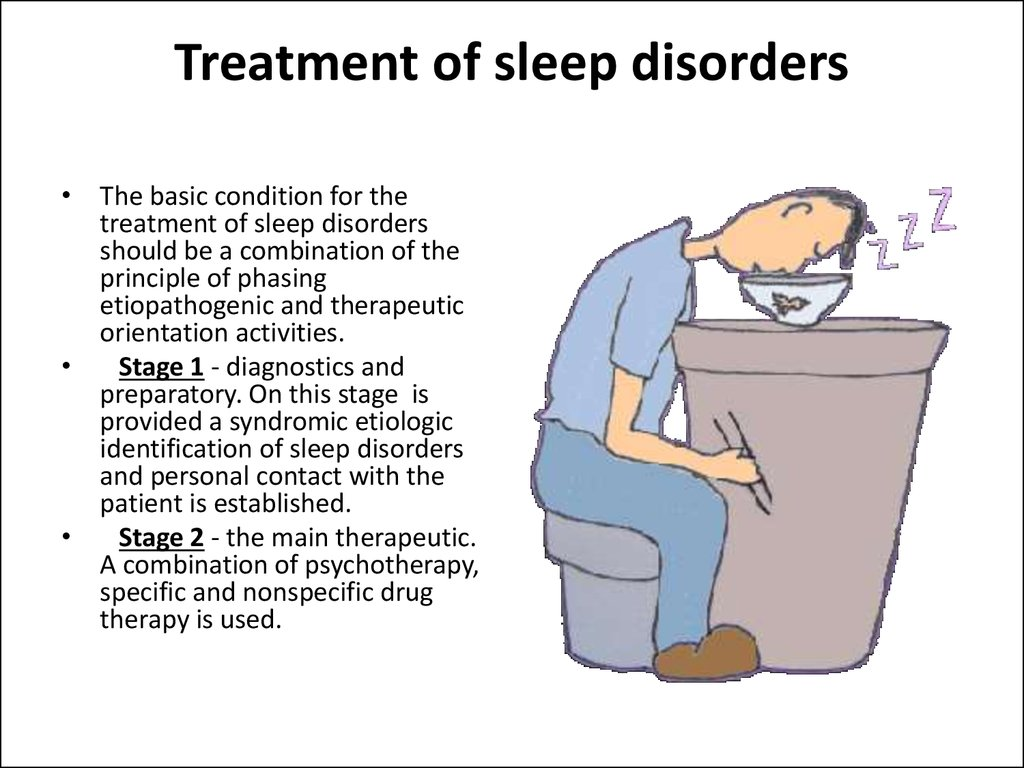 Treatment of sleep disorders