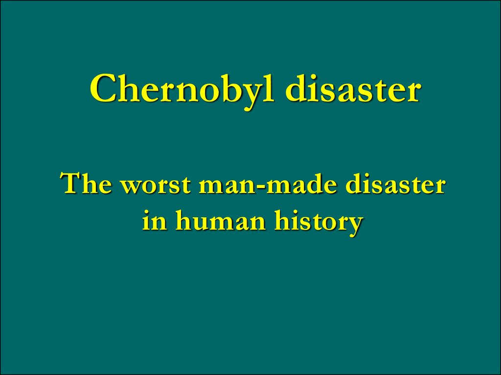 an introduction to the history of the chernobyl disaster Chernobyl: history of a tragedy by serhii plokhy review – death of the soviet dream this account of the chernobyl nuclear disaster is both moving and rigorously researched viv groskop.
