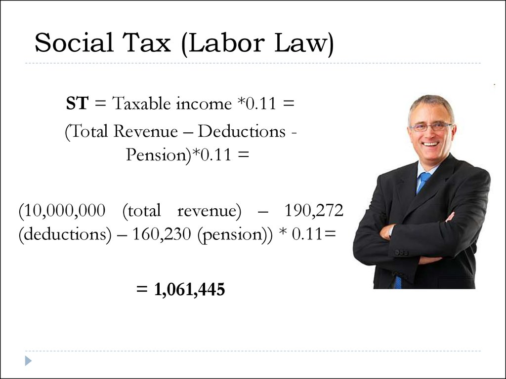 Social Tax (Labor Law)