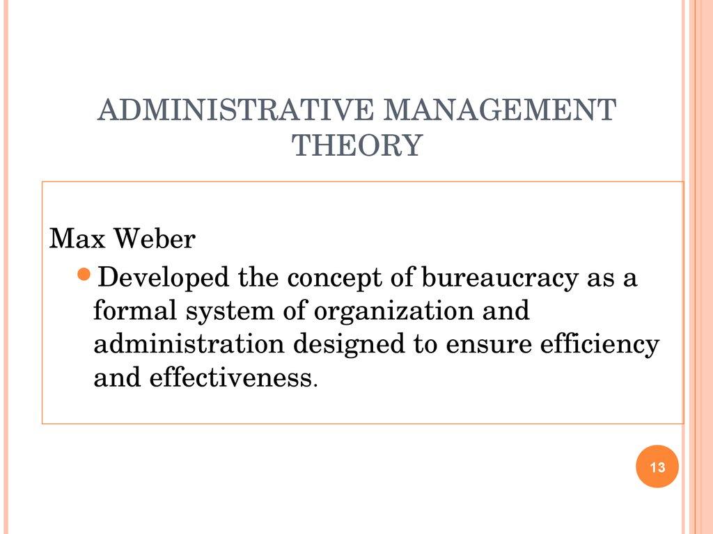 the evolution of management theory 2 -4 evolution of management theory figure 2 1 org environment management science behavioral management 1890 administrative management scientific management irwin/mc.