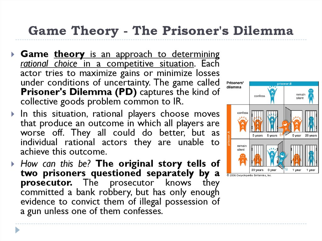 Game Theory - The Prisoner's Dilemma