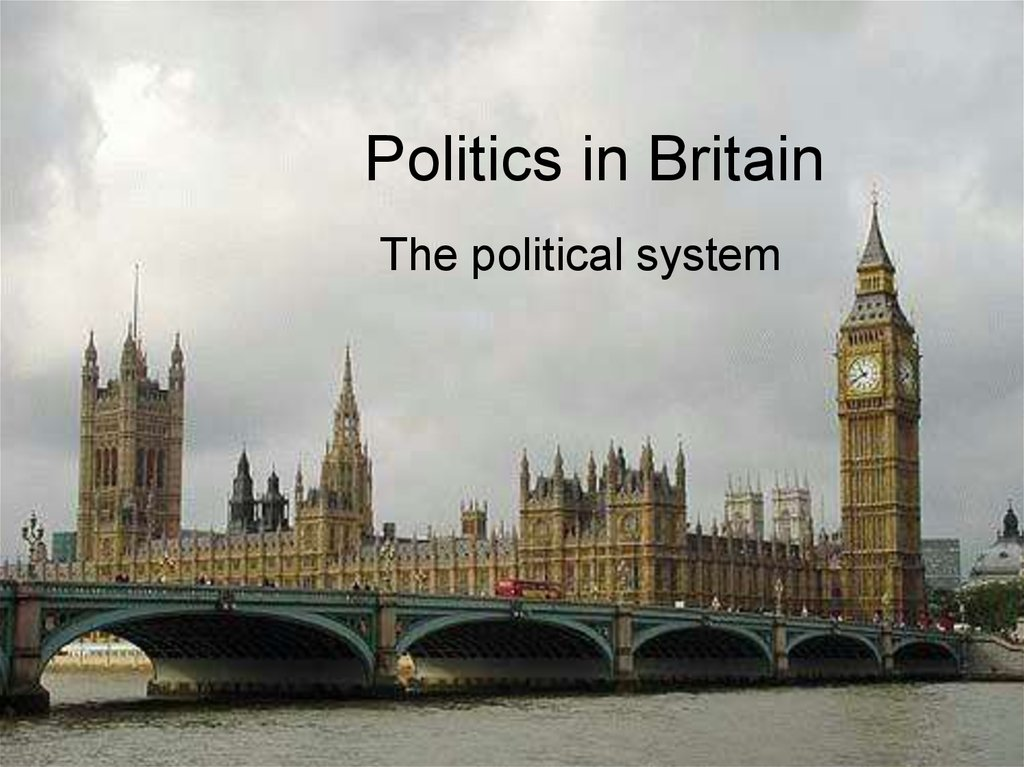 Politics in Britain