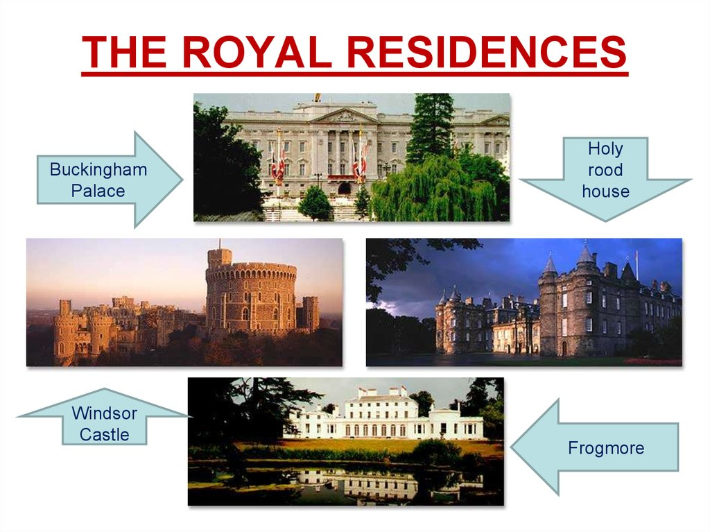 THE ROYAL RESIDENCES