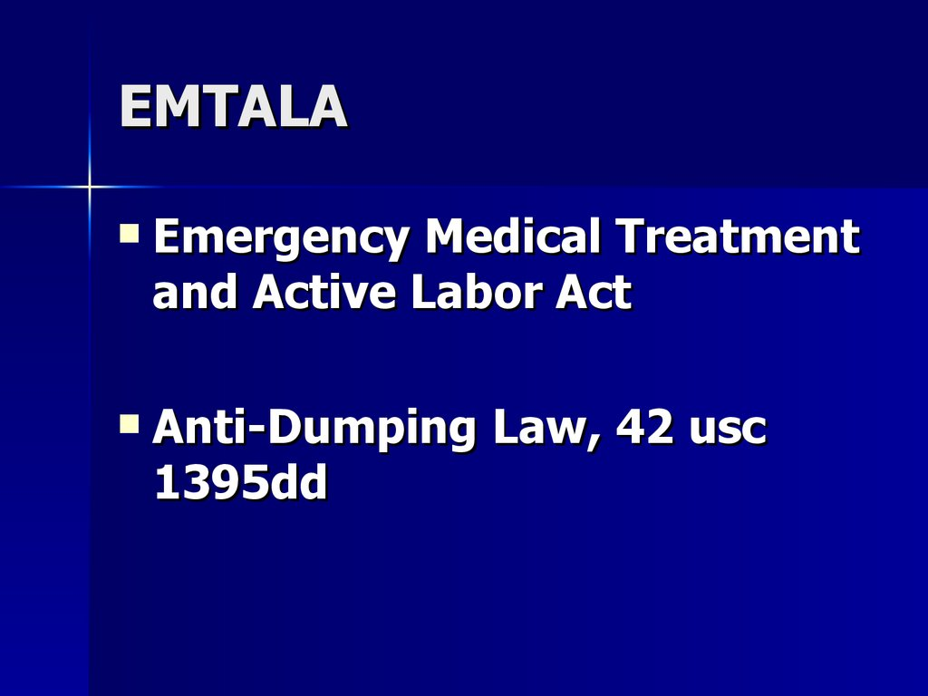 the importance of guatemalas emtala act View homework help - ha205 unit four essaysdocx from health adm 205 at saint joseph's college of maine the importance of emtala the emergency medical treatment and active labor act.