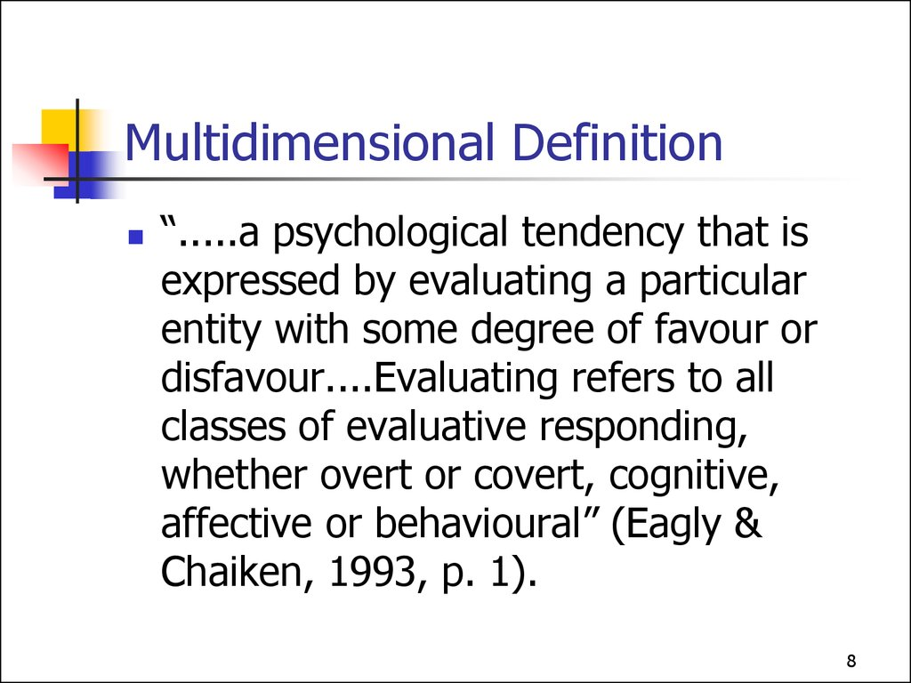 Multidimensional Definition