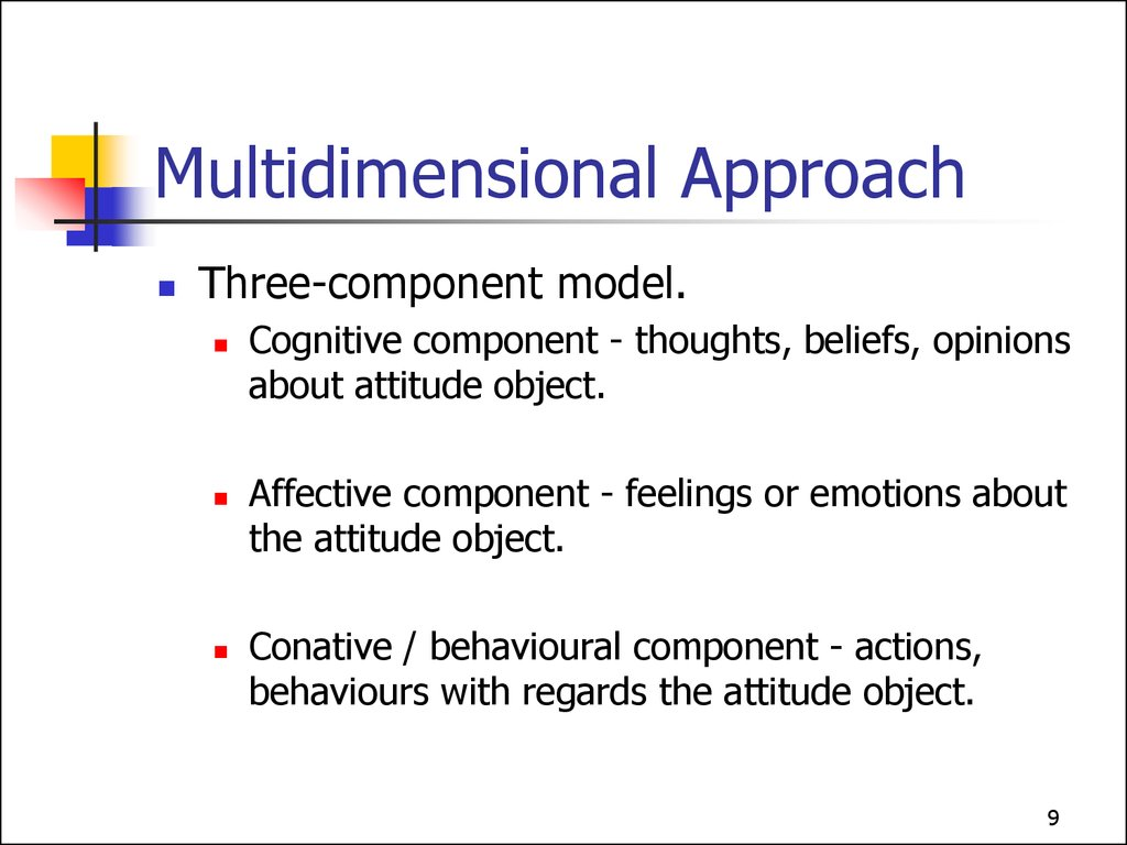 Multidimensional Approach