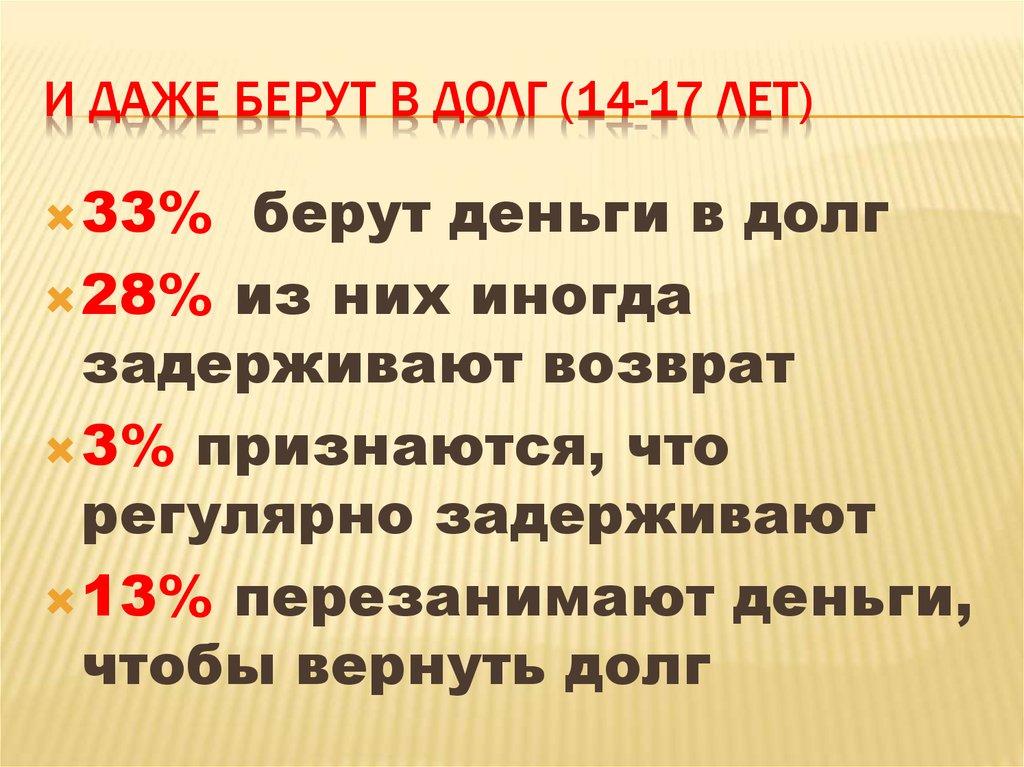 взять кредит 120000 рублей