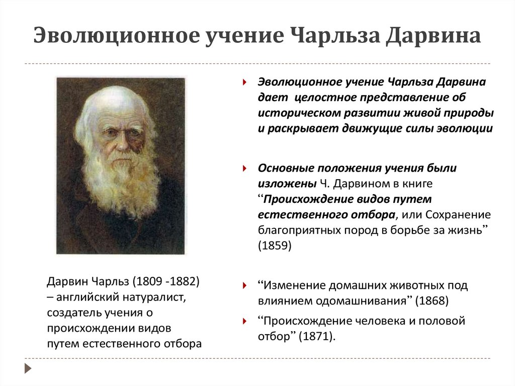 the impact of charles darwins theory of evolution