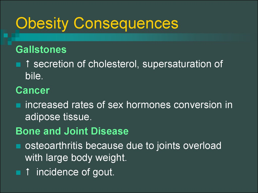Obesity Consequences