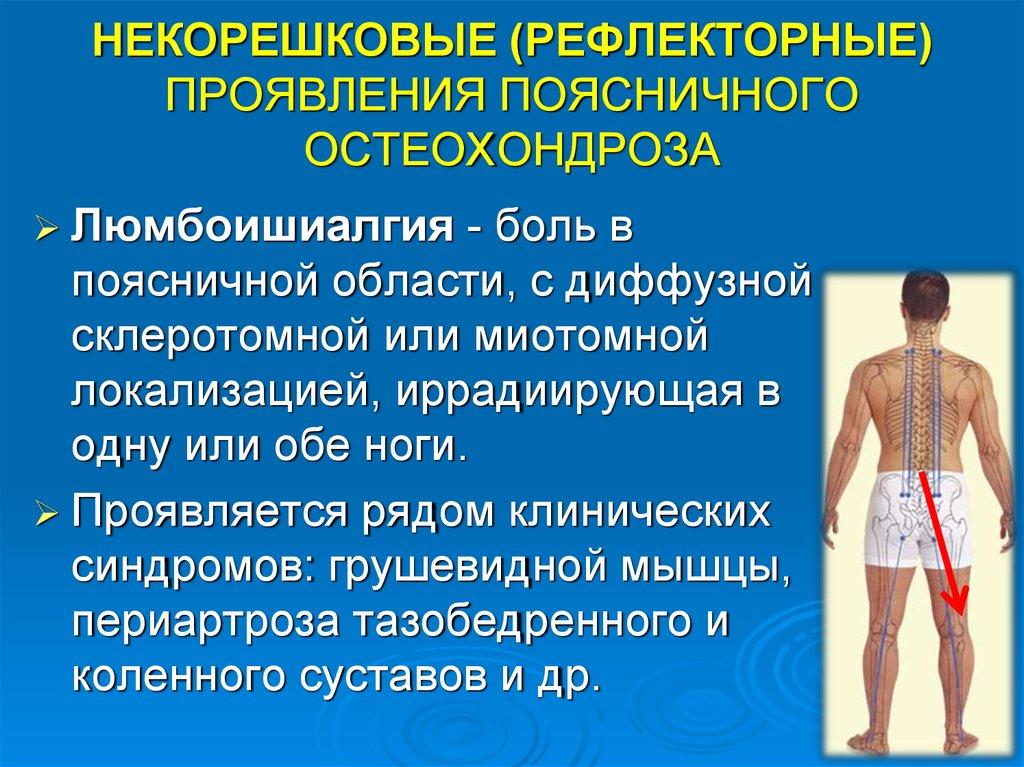 Лечение неврологических симптомов по остеохондрозе