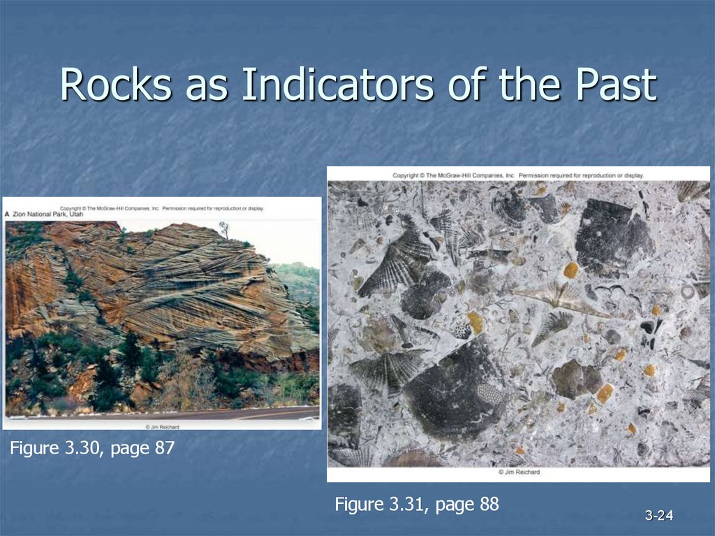 Rocks as Indicators of the Past