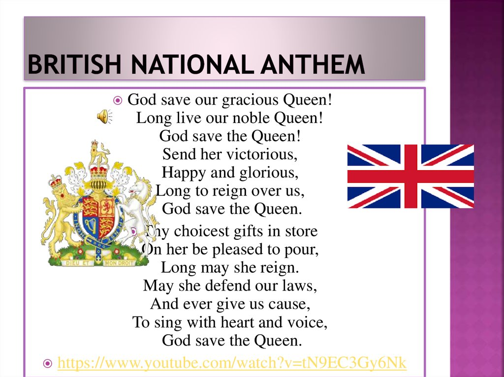 British National Anthem