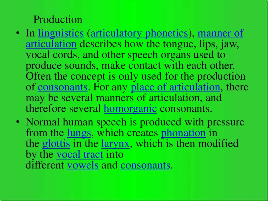 Language and speech  Types of speech - online presentation