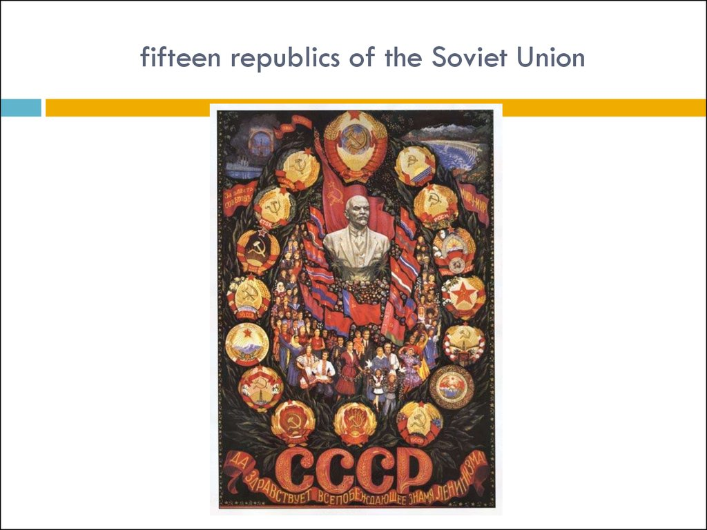 fifteen republics of the Soviet Union