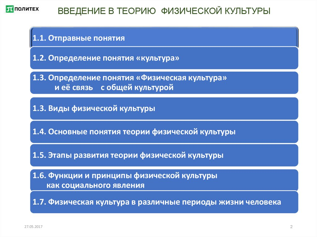 Место физической культуры в общей культуре человека доклад 6374