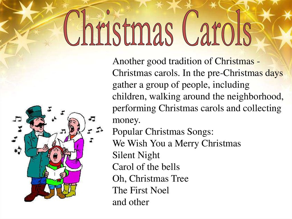 New english christmas songs
