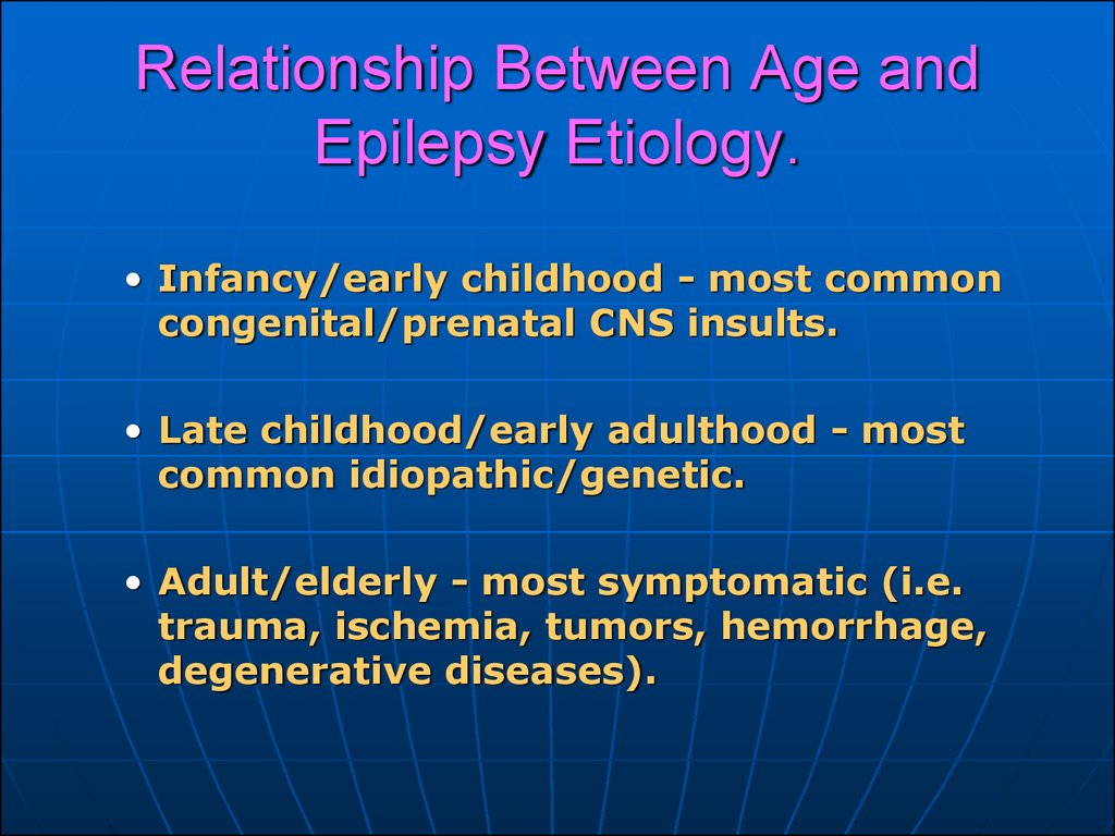 Relationship Between Age and Epilepsy Etiology.