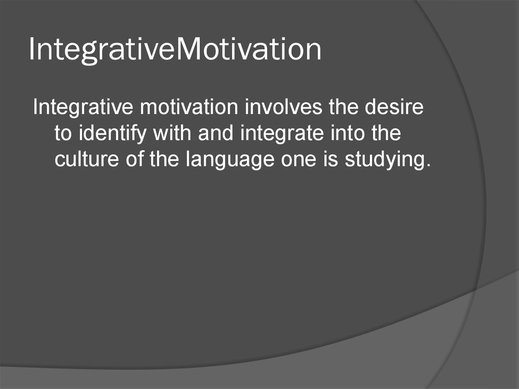 IntegrativeMotivation