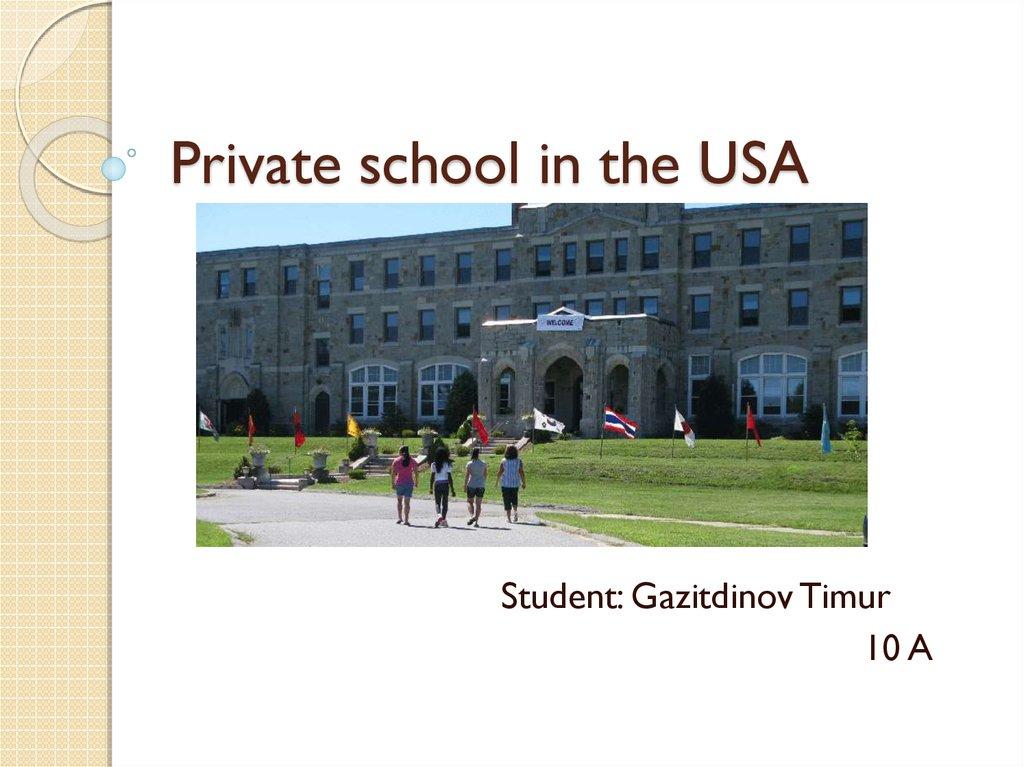 Private Schools Usa