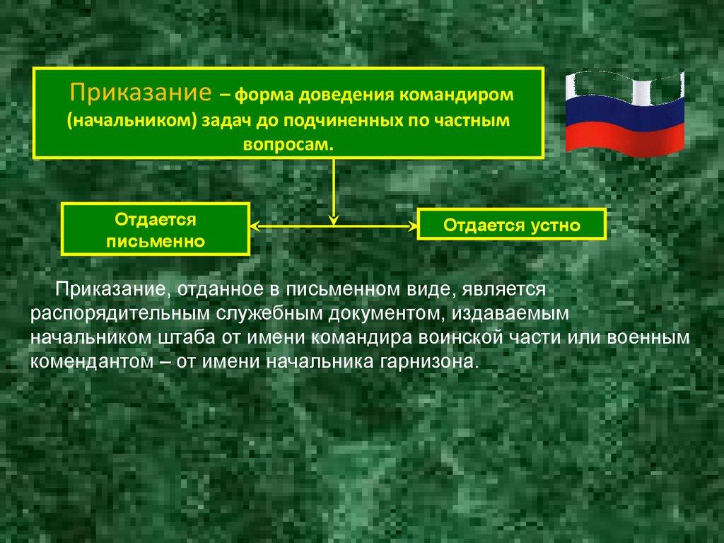 Форма доклада командиру взвода 2454