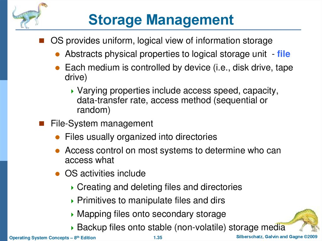 Mass Storage Management (2)