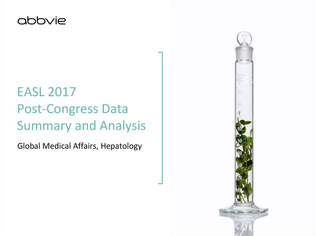 EASL 2017 Post-Congress Data Summary and Analysis