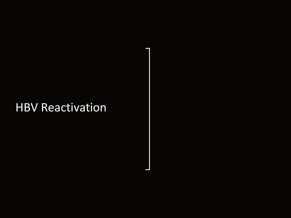 HBV Reactivation