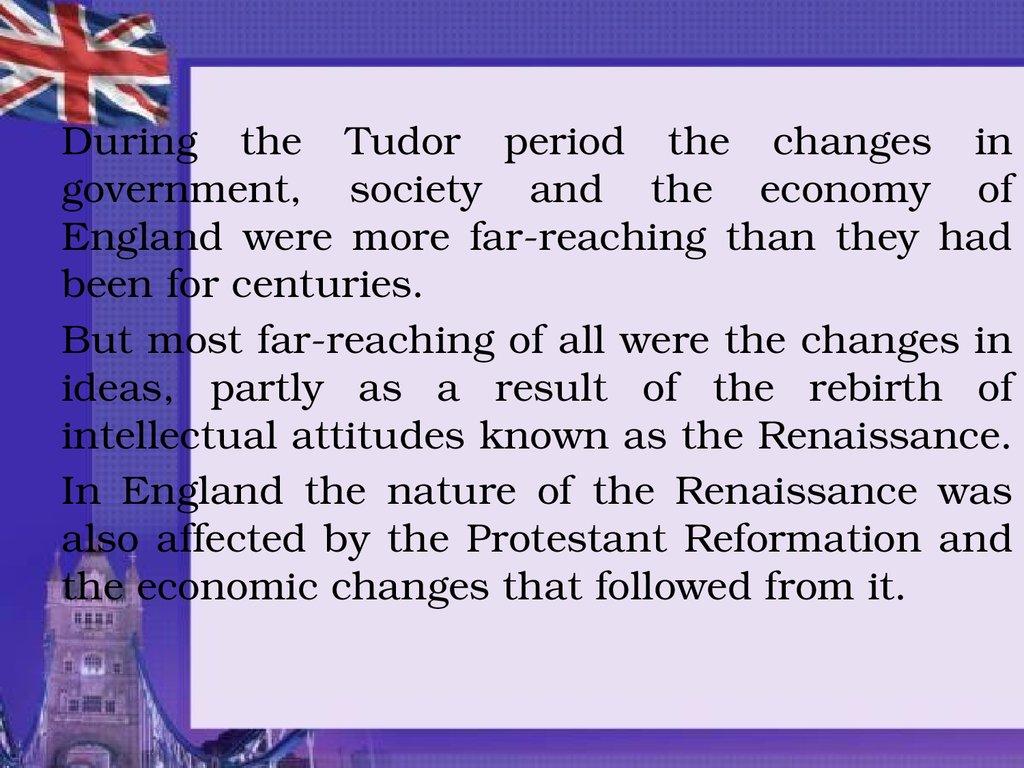 tudor england government