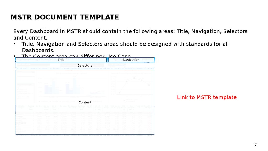 MSTR Document Template