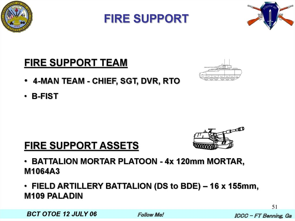 FIRE SUPPORT
