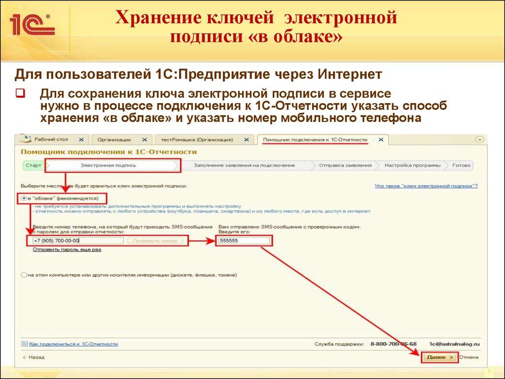 Сдача электронной отчетности через интернет через 1с консультация бухгалтера юриста предпринимателям