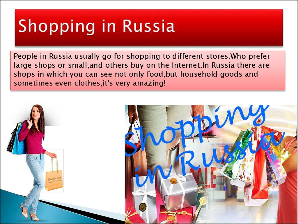 Shopping in Russia