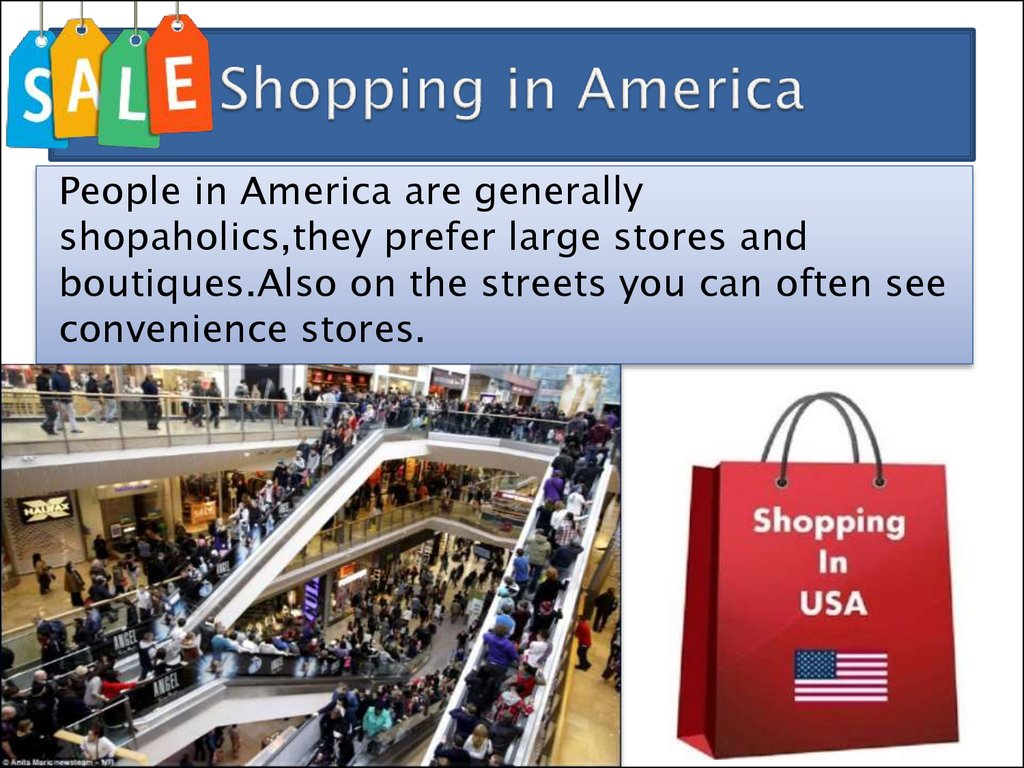 Shopping in America