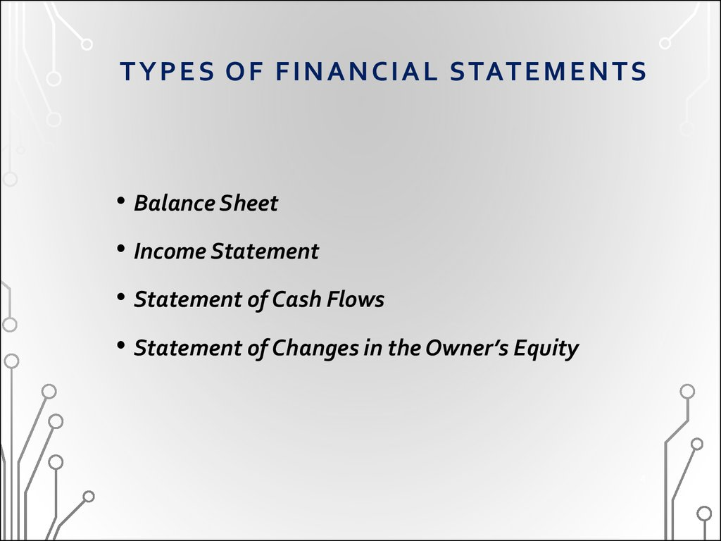 What Are 4 Types of Financial Statements?
