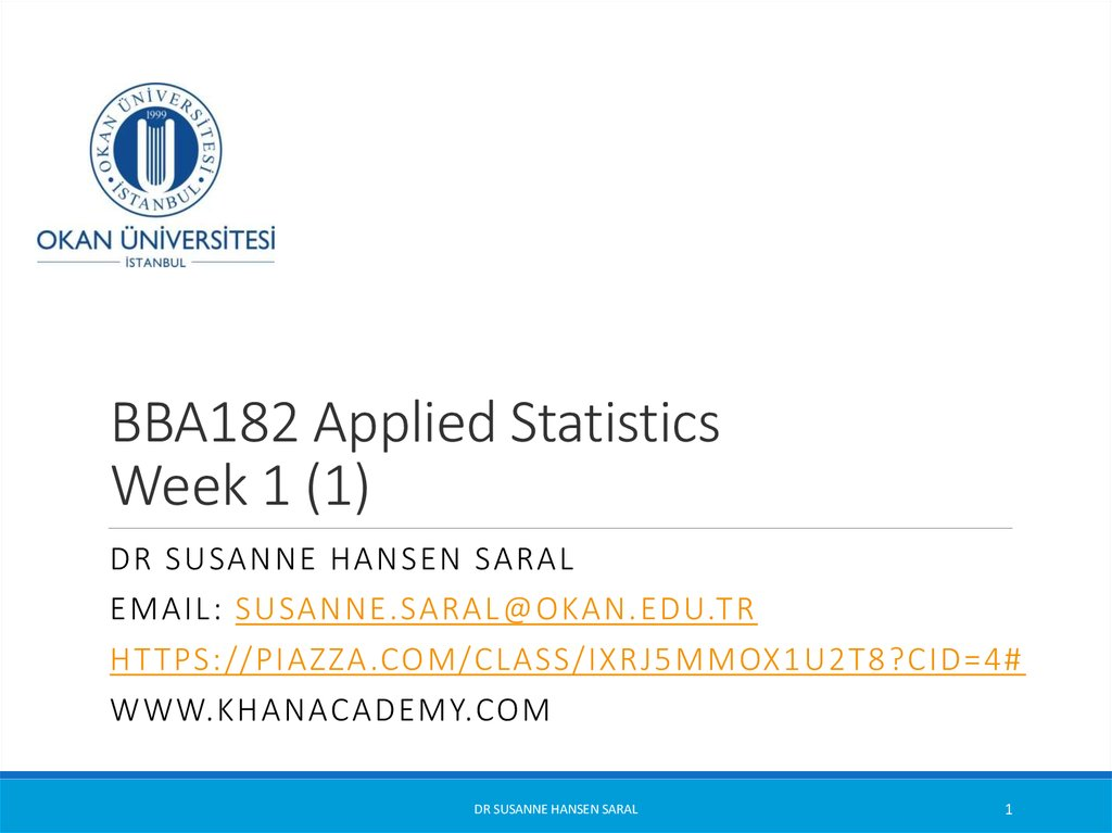 BBA182 Applied Statistics Week 1 (1)