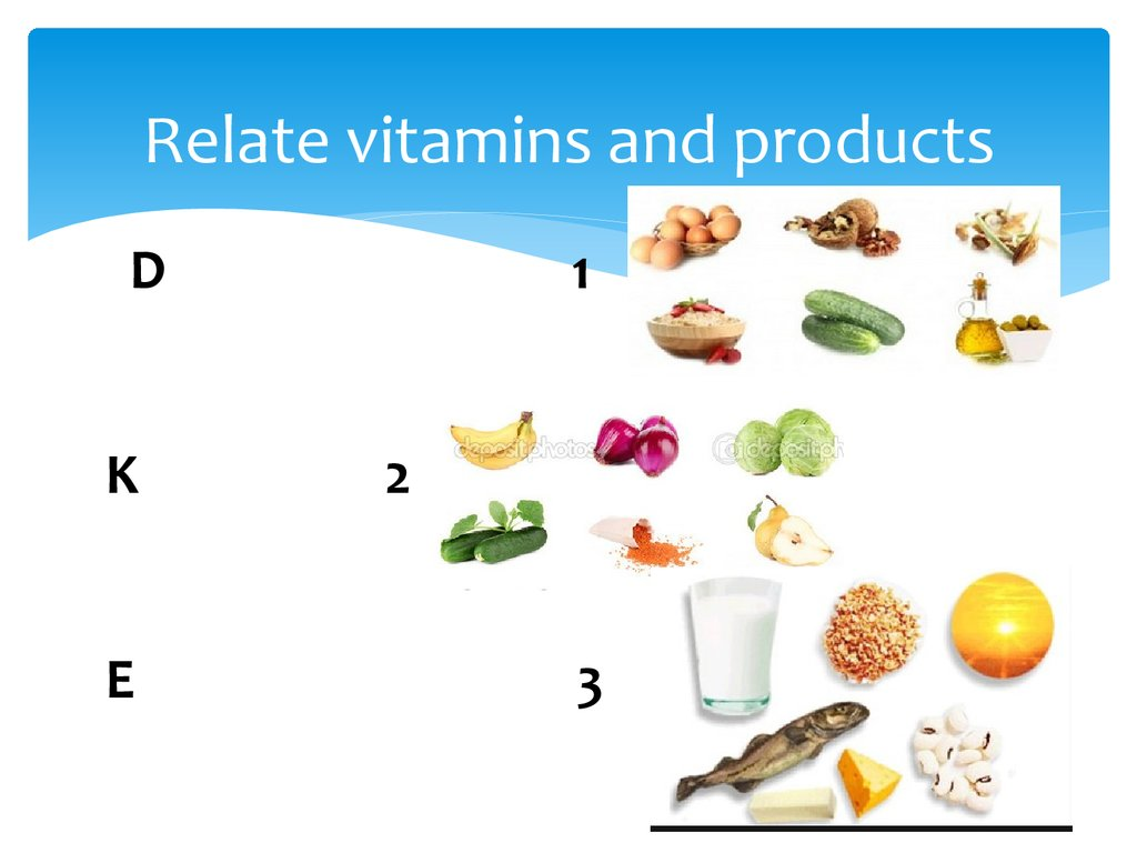 Relate vitamins and products