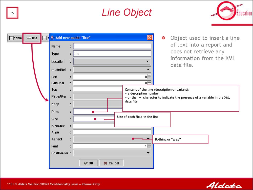 Line Object