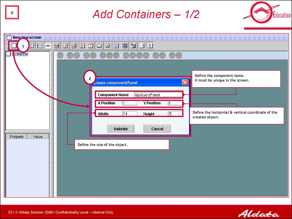 Add Containers – 1/2