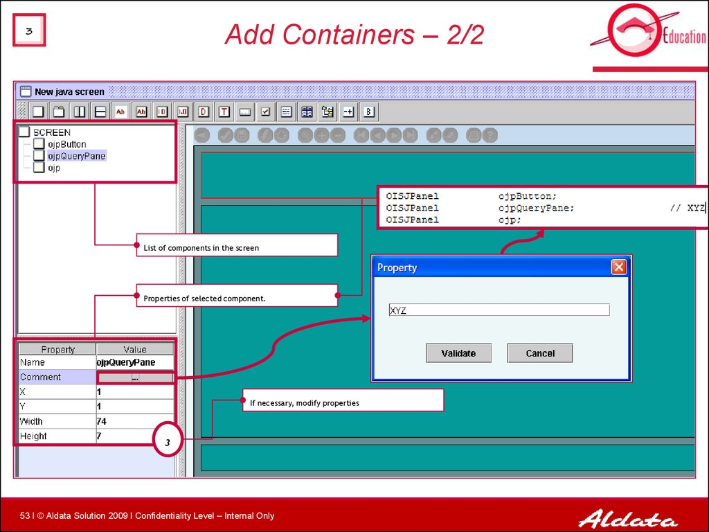 Add Containers – 2/2