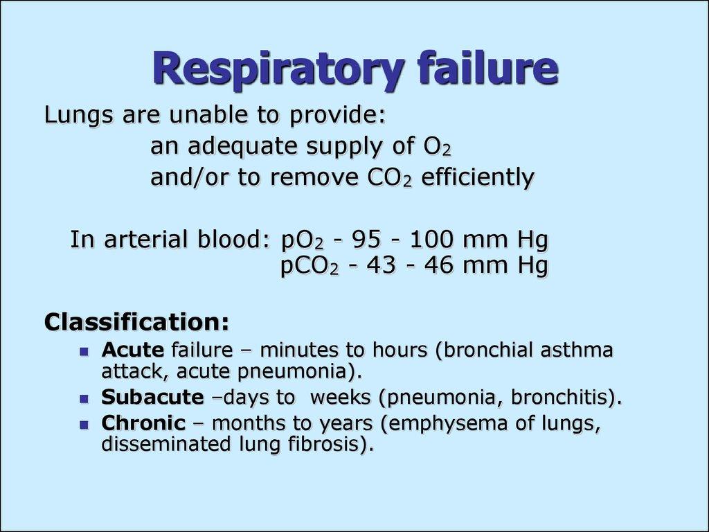 Pathology Of Respiration Subject 15