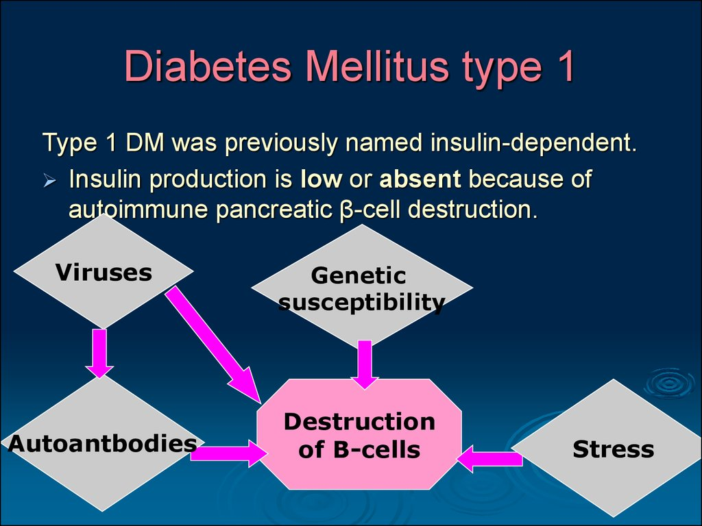diabetes milletus Diabetes mellitus type 2 (also known as type 2 diabetes) is a long-term metabolic disorder that is characterized by high blood sugar, insulin resistance, and relative lack of.