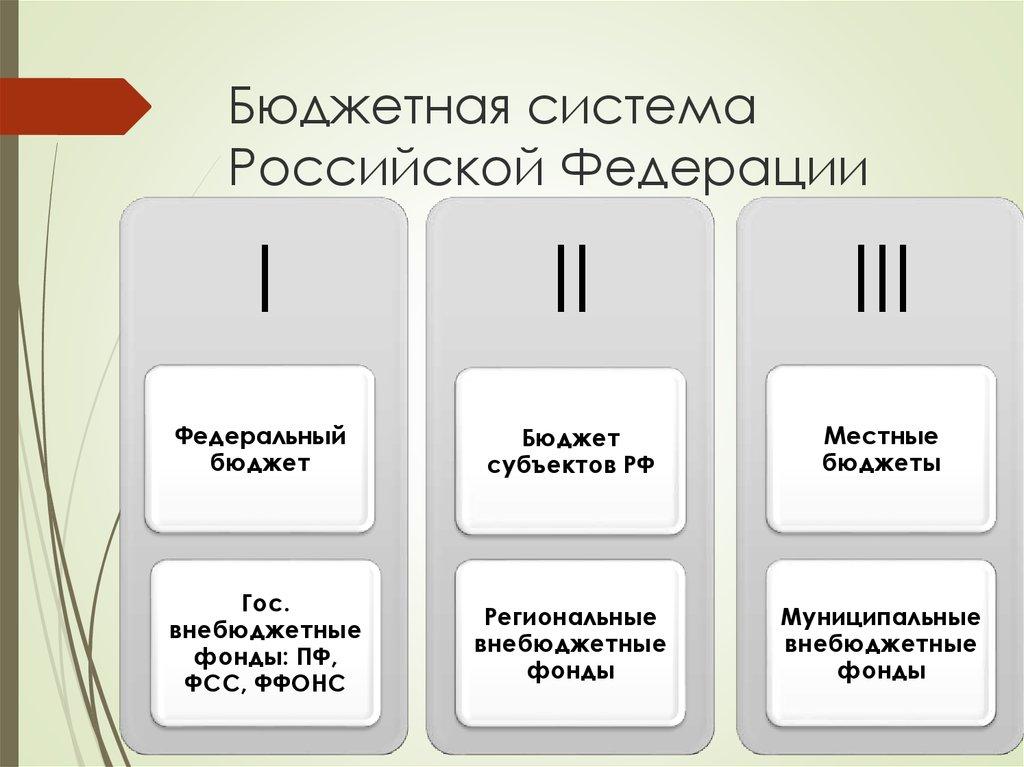 8. Бюджетная Система Рф И Ее Структура Шпаргалка