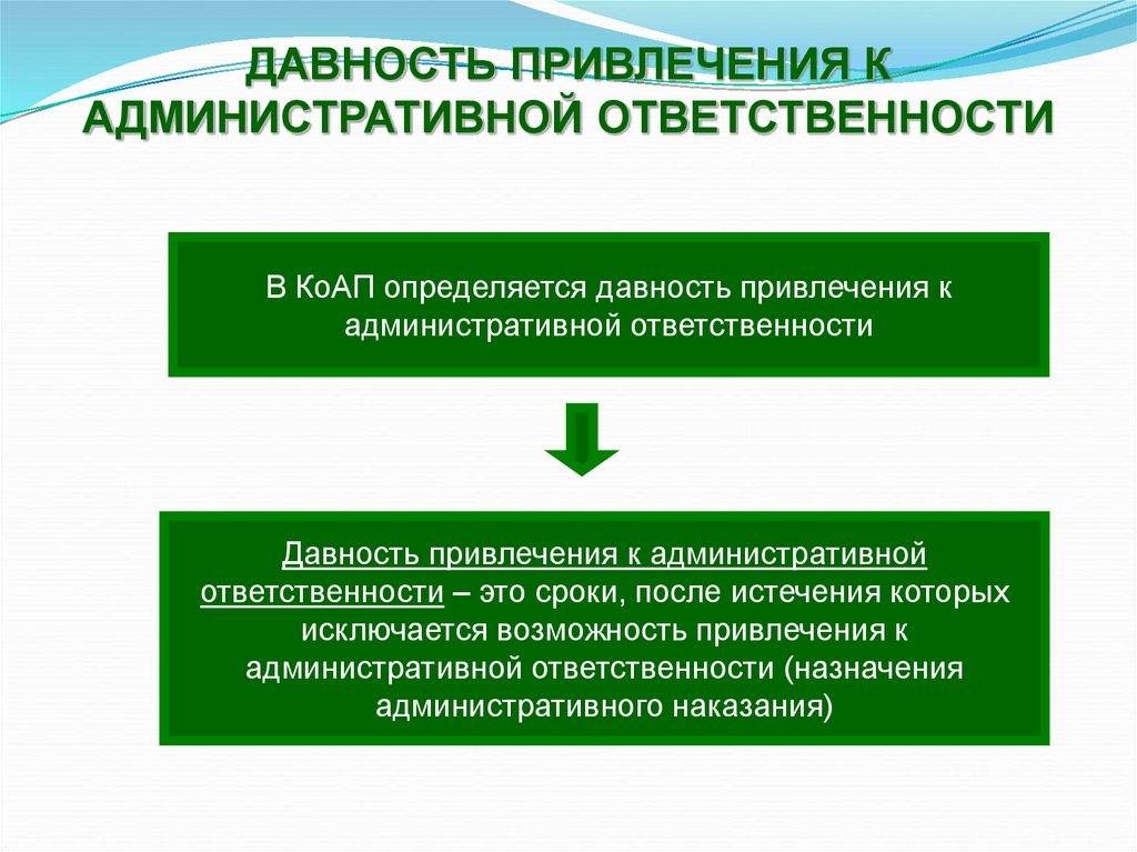Погашение административной ответственности