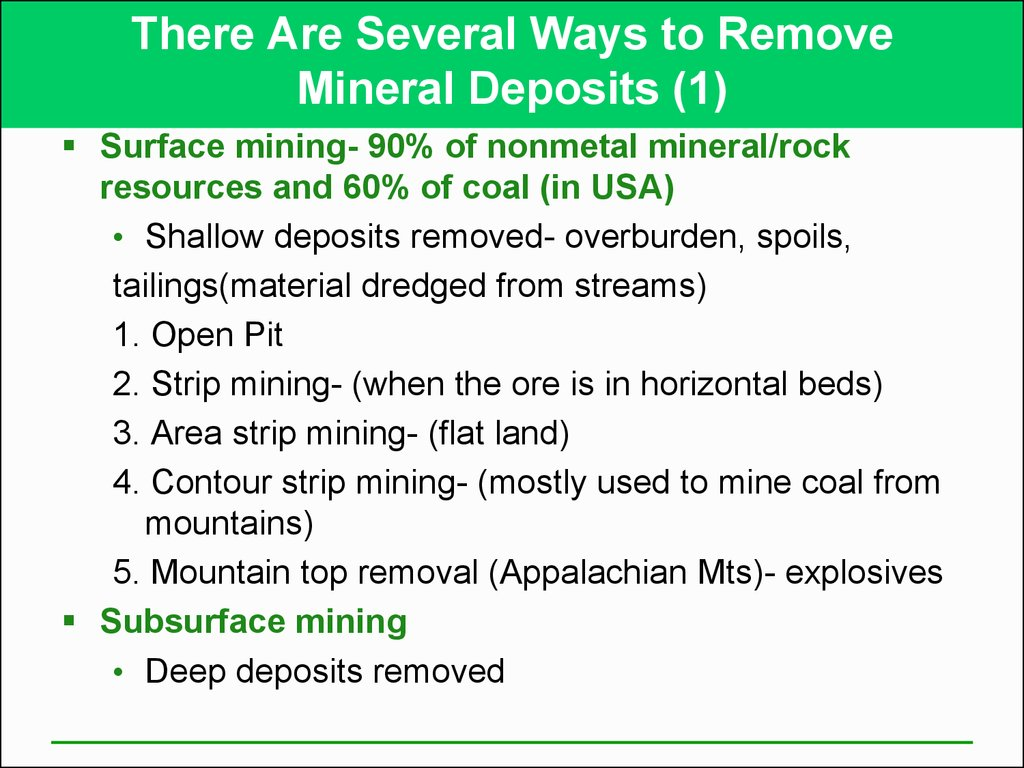 There Are Several Ways to Remove Mineral Deposits (1)