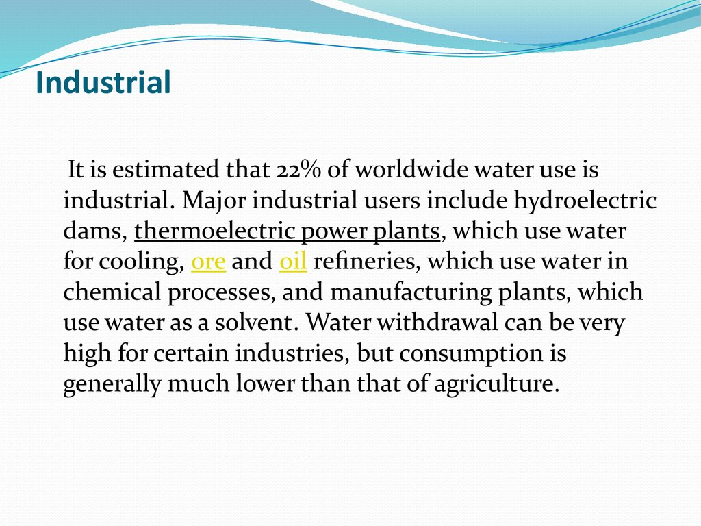 uses of water as a solvent
