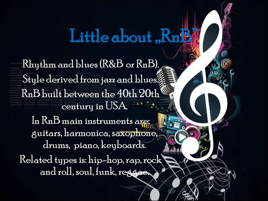 "Little about ""RnB"""