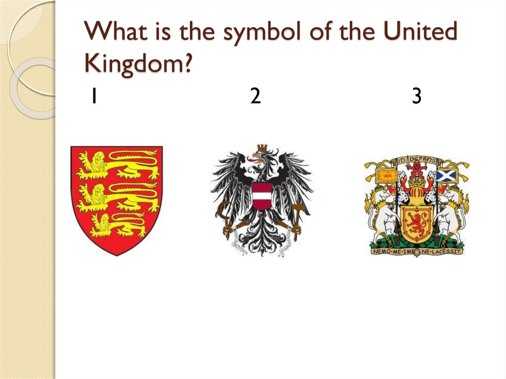 What is the symbol of the United Kingdom?