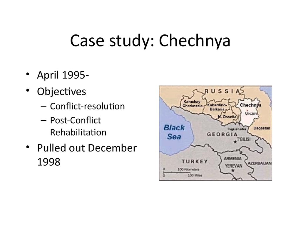 Case study: Chechnya