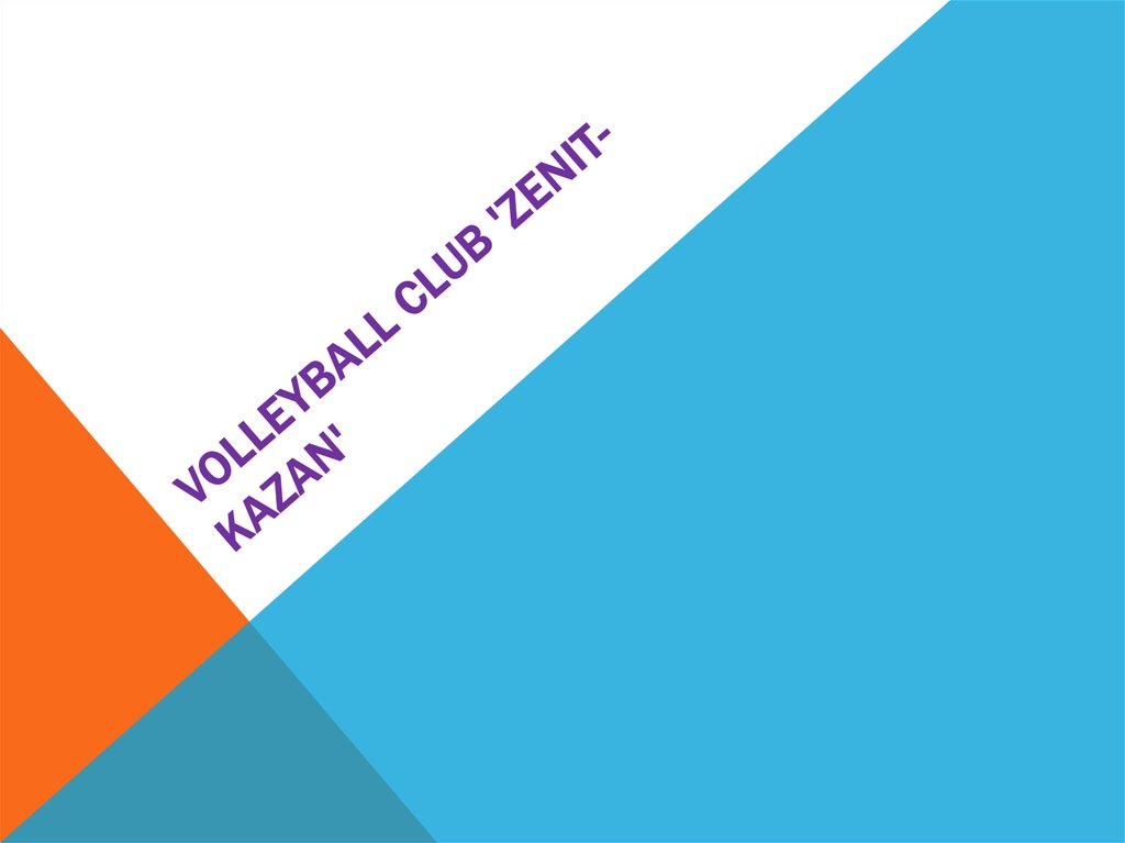 Volleyball club 'Zenit-Kazan'