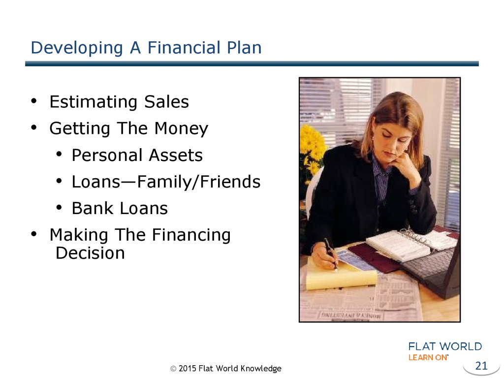 Developing A Financial Plan